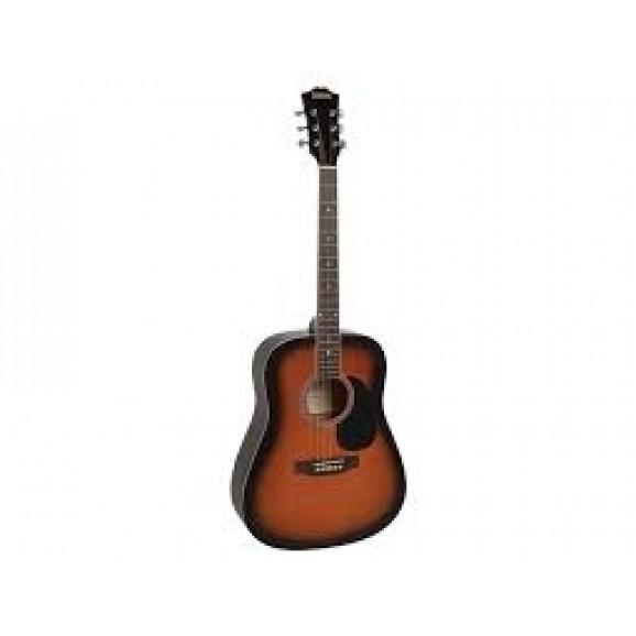 Redding RED50VS Dreadnought Acoustic Guitar in Vintage Sunburst