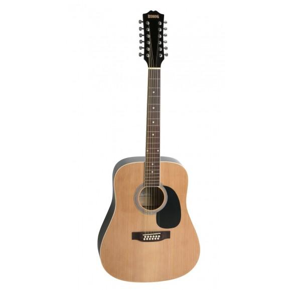 Redding RED512 12 String Acoustic Guitar in Natural