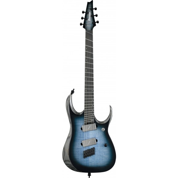 Ibanez -  RGD61ALMS CLL Electric Guitar - Cerulean Blue Burst Low Gloss - 2019