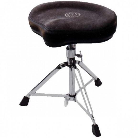 Roc-N-Soc Drum Throne Manual Spindle w/Original Black Seat