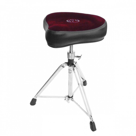 Roc-N-Soc Drum Throne - Manual Spindle w/Original RED Seat (MSOR)