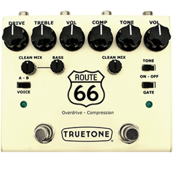 Truetone Route 66 Overdrive Compression Pedal