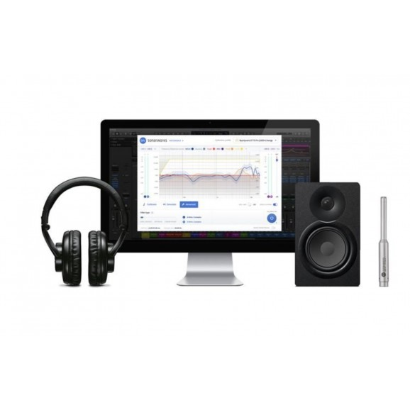 Sonarworks Reference 4 Studio Calibration Software & Sennheiser HD650 Headphones
