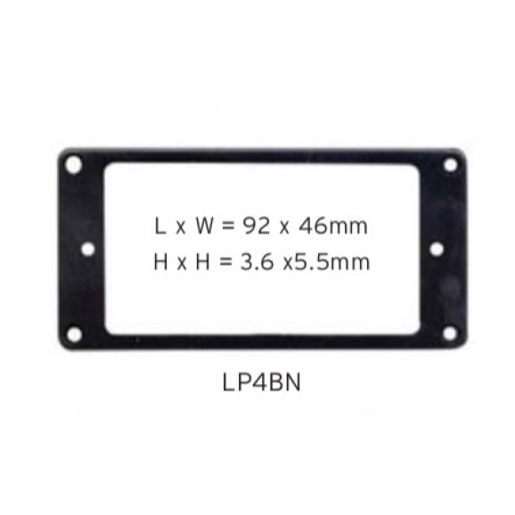 Pickup Mounting Ring - Black - LP4BN