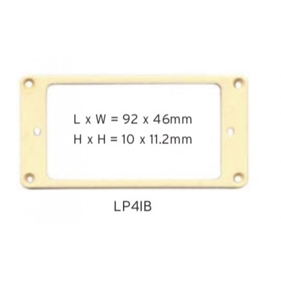 Pickup Mounting Ring - Cream - LP4IB