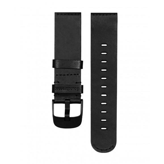 Soundbrenner Leather Core Strap - BLACK