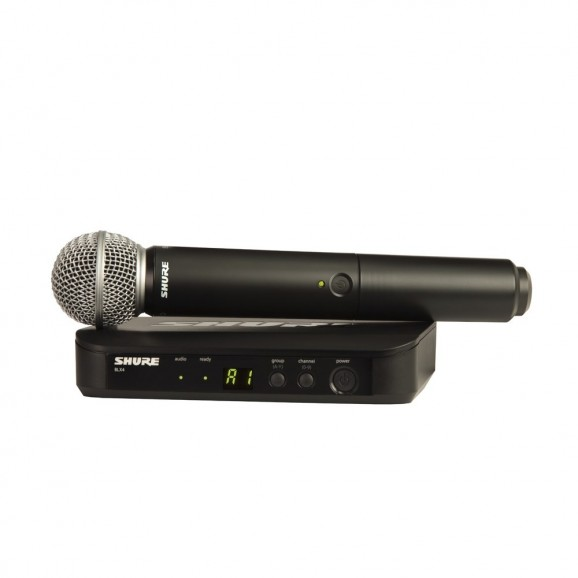 Shure BLX2/SM58 Wireless Vocal Microphone System - M17 662-686Mhz