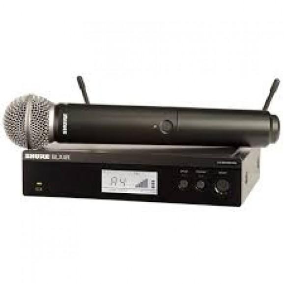 Shure BLX24R / SM58 Wireless Handheld Microphone System