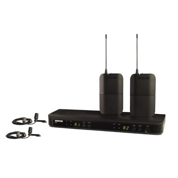 Shure BLX Dual Lapel Microphone Wireless System