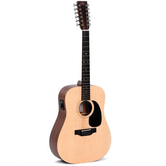 Sigma DM12E 12-String Acoustic / Electric Guitar