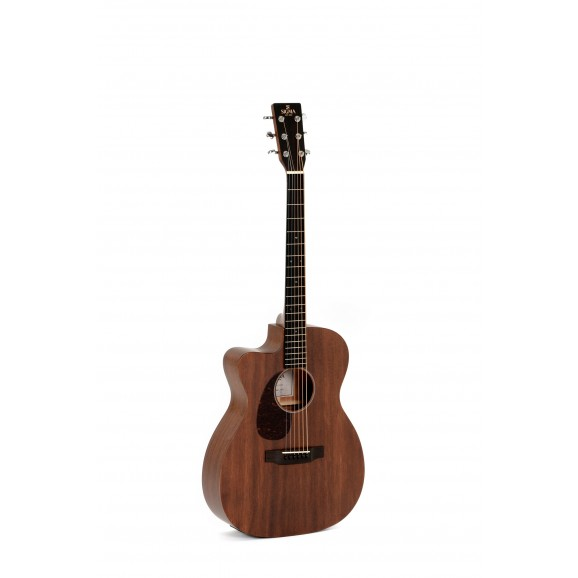 Sigma 000MC-15L Orchestra Sized Acoustic / Electric Guitar (left hand)