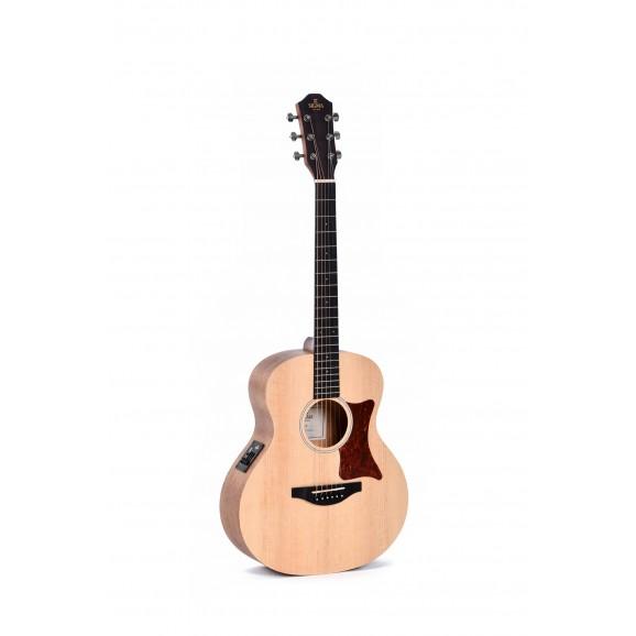 Sigma GSME Mini Grand Auditorium Acoustic / Electric Guitar