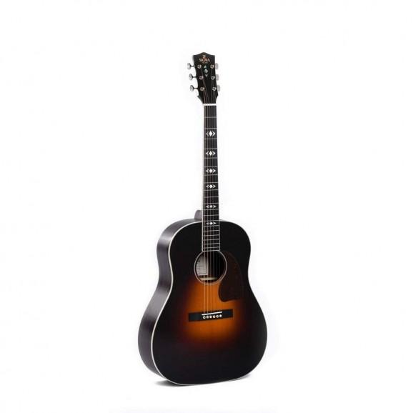 Sigma JM-SG45L Acoustic / Electric Guitar (left handed)