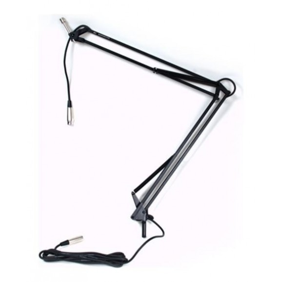 ISK Desk Mountable Broadcast Microphone Stand (2 Arm)