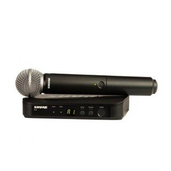 Shure BLX24 SM58 Wireless Handheld Microphone System