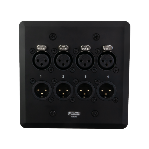 Soundtools Wallcat8 4xMale 4xFemale XLR Over Cat5