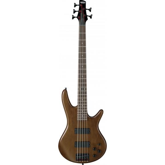 Ibanez -  GSR205B WNF Electric 5 String Bass - Walnut Flat
