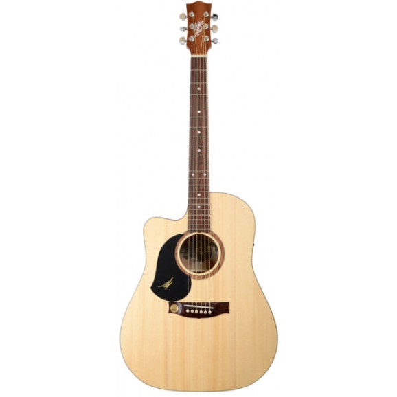 Maton SRS60C Left Handed Acoustic Electric Guitar with Maton Hard Case