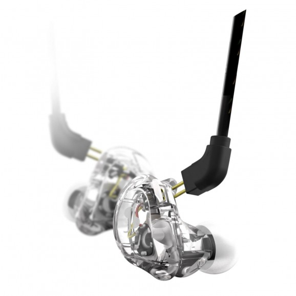 Stagg - Dual Driver In-Ear Monitors, Transparent