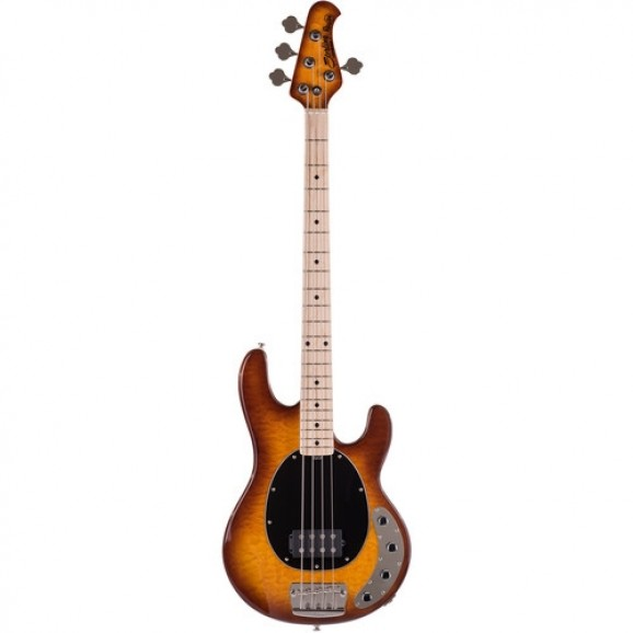 Sterling RAY34 Swamp Ash Bass Swamp with Rosewood Neck in Honeyburst