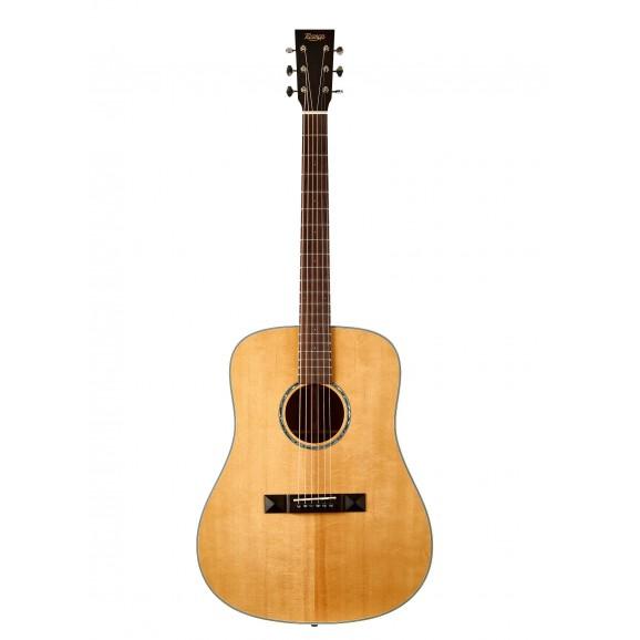 Tasman TA100 Dreadnought Acoustic Guitar with Case