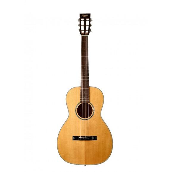 Tasman TA100P Parlour Acoustic Guitar with Case