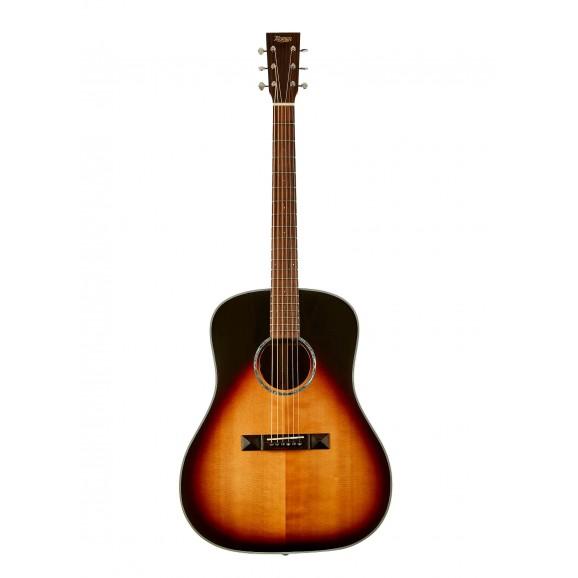 Tasman TA200D-E Drop Shoulder Dreadnought Acoustic Electric Guitar