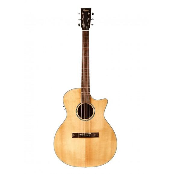 Tasman TA200GS-CE G/S Acoustic Electric Guitar with Case