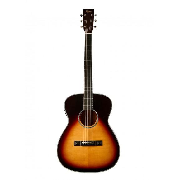 Tasman TA300 OE OM Acoustic Guitar with EQ