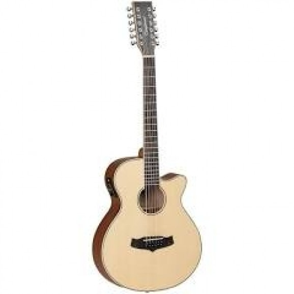 Tanglewood Winterleaf TW12CE Orchestra Cutaway Acoustic / Electric 12-String