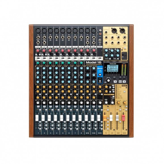 TASCAM Model-16  16 Track Multi Track Mixer / Interface / Recorder