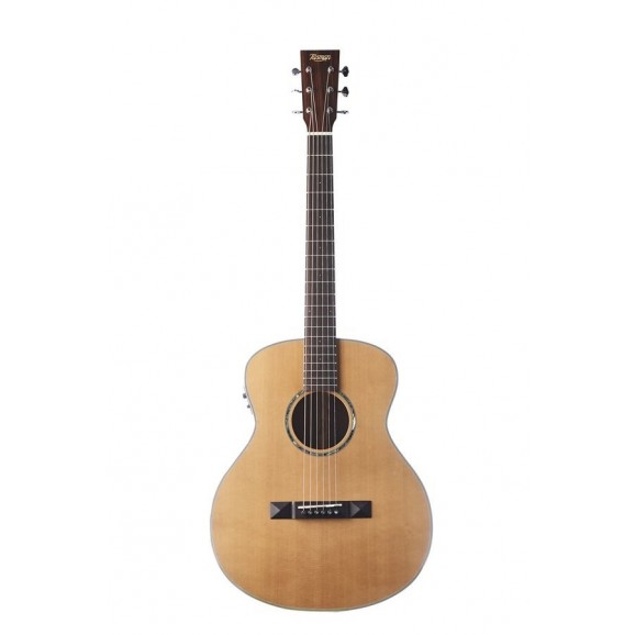 Tasman TA100M-E Mini Jumbo Acoustic / Electric Guitar