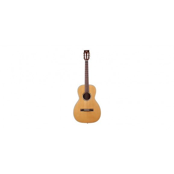Tasman TA100P Parlour Acoustic Guitar with Case