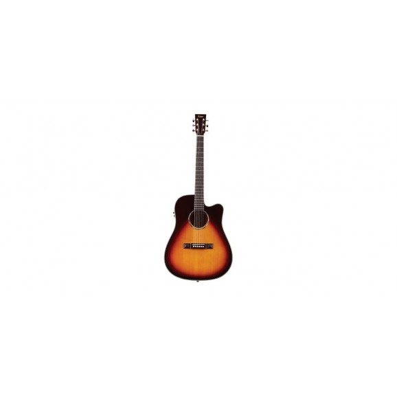 Tasman TA300-CE Cutaway Acoustic Electric Guitar with Case