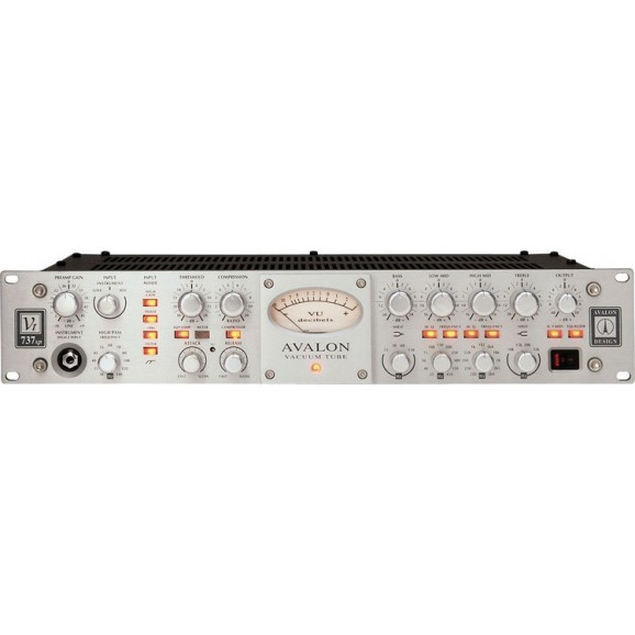 Avalon VT-737SP Silver 737 Channel Strip
