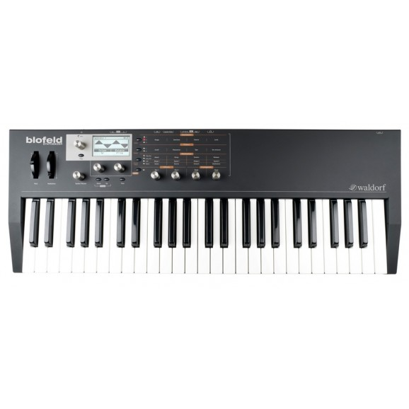 Waldorf Blofeld Keyboard Synthesizer in Black