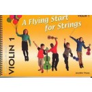 A Flying Start for Strings - Violin 1 -    Jennifer Thorp (Violin) A Flying Start for Strings - Flying Strings. Softcover Book