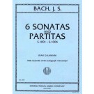 6 Sonatas and Partitas BWV 1001-1006 - Ivan Galamian   Johann Sebastian Bach (Violin)  - International Music Company. Softcover Book