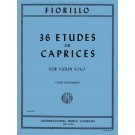 36 Etudes or Caprices - Ivan Galamian   Federigo Fiorillo (Violin)  - International Music Company. Softcover Book