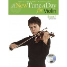 A New Tune a Day for Violin - Book 1 -  Sarah Pope   (Violin)  - Boston Music. Softcover/CD Book