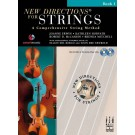 New Directionså¨ For Strings, Double Bass D Position Book 1 - Elliot Del Borgo|Soon Hee Newbold   Brenda Mitchell|Joanne Erwin|Kathleen Horvath|Robert D. McCashin (Double Bass) New Directionså¨ For Strings - FJH Music Company. Softcover/CD Book
