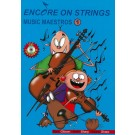 Encore On Strings - Music Maestros 1 Double Bass -  Mark Gibson|Natalie Sharp   (Double Bass)  - Accent Publishing. Softcover/CD Book