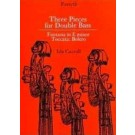 3 Pieces for Double Bass -    Ida Carroll (Double Bass)  - Forsyth Publications. Softcover Book