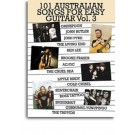 101 Australian Songs For Easy Guitar Volume 3 -  Various   (Guitar|Vocal)  - Music Sales. Softcover Book