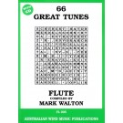 66 Great Tunes - Flute - Mark Walton    (Flute) 66 Great Tunes - Australian Wind Music Publications. Softcover/CD Book