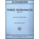 3 Romances Op. 94 - Jean-Pierre Rampal   Robert Schumann (Flute)  - International Music Company. Softcover Book