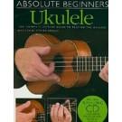 Absolute Beginners: Ukulele -  Steven Sproat   (Ukulele)  - Amsco Publications. Softcover/CD Book