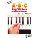 ABC Keyboard Note Stickers