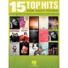 15 Top Hits for Easy Piano -  Various   (Piano)  - Hal Leonard. Softcover Book