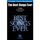 Best Songs Ever -    Various (Ukulele) Ukulele Chord Songbook - Hal Leonard. Softcover Book